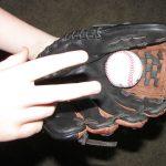 breaking in a new glove