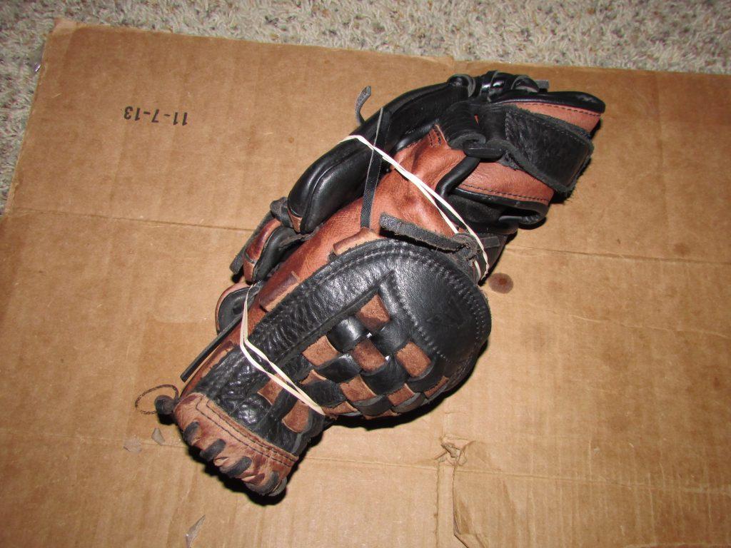 how to break in a softball glove
